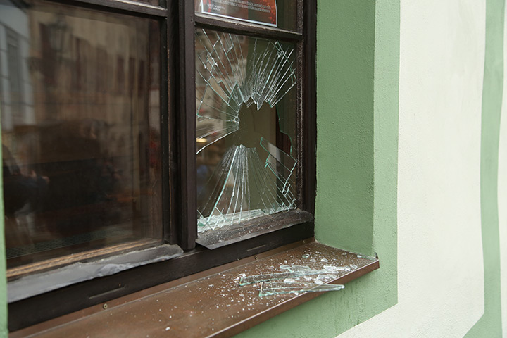 A2B Glass are able to board up broken windows while they are being repaired in Wembley.